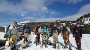 Montana FWP Sampling Team